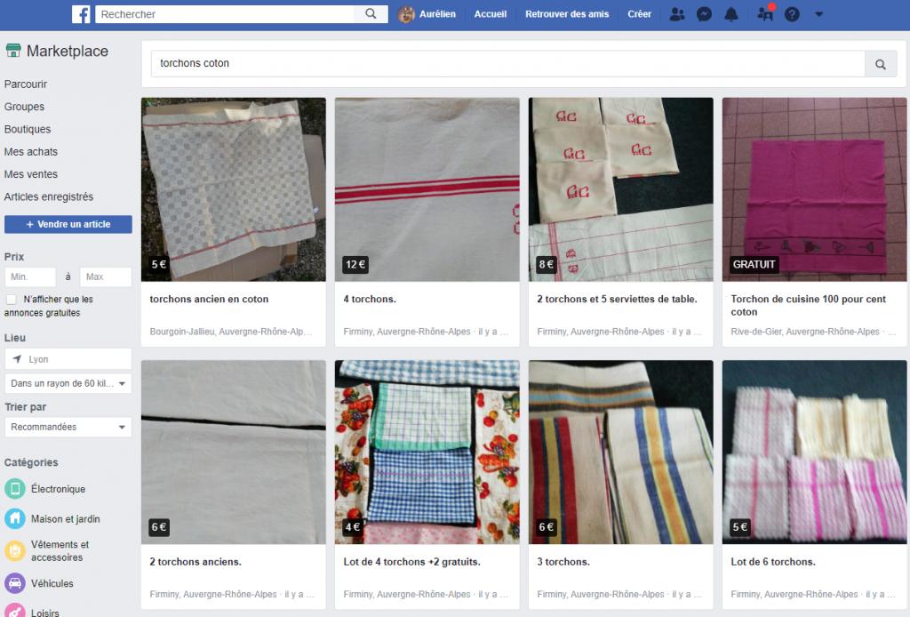 Vendre sur Facebook Marketplace