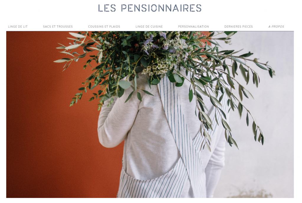 Site web Les pensionnaires